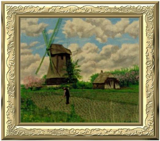 schilderij van W.J. Verhoeff