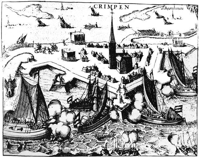 De Spaanse schans in Crimpen